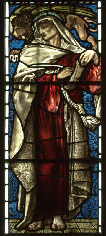 Cambridge, Jesus College Chapel, South transept west1