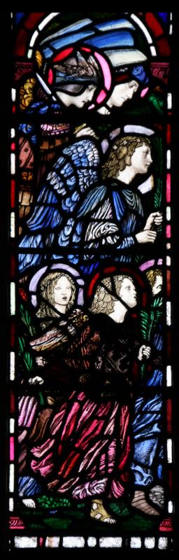 b. Six angels receiving LtBolitho